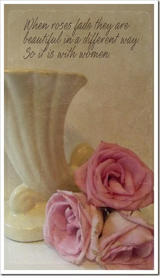 roses fade