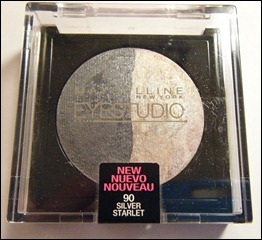 Maybelline Silver Starlet Eye Studio Marbleized Eyeshadow
