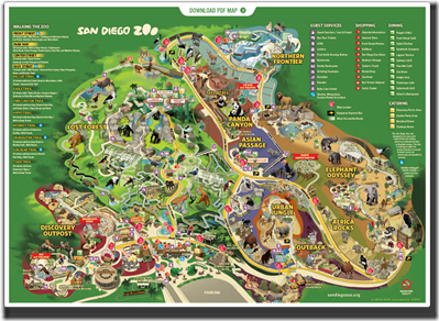 Houston Zoo Map Submited Images
