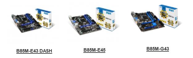 MSI B85