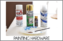 painting hardware tab