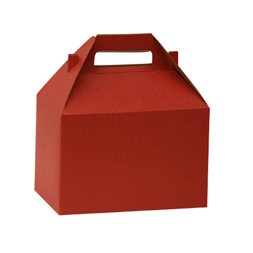 I love this bright red takeout box from The Container Store -- it is a durable way to pack up leftovers from Thanksgiving.