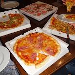 pizzas in Seefeld, Tirol, Austria
