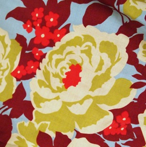 Joel Dewberry Fabric {Painting Tutorial by Sawdust and Embryos}