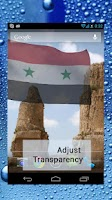 Screenshot of 3d Syria Flag with Anthem LW