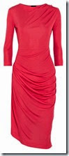 Vivian Westwood Anglomania Red Jersey Dress