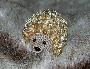 crochet hedgehog