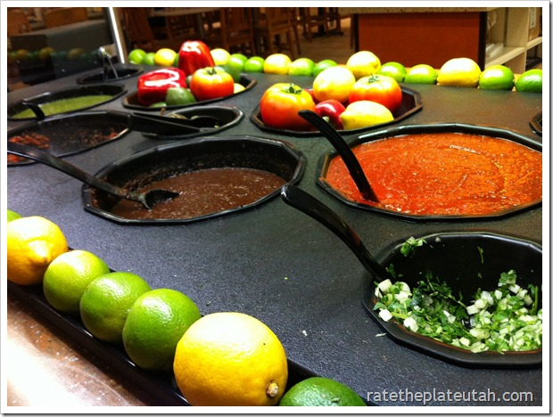 Rubio's Salsa Bar