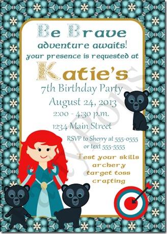 Katue Brave invitation