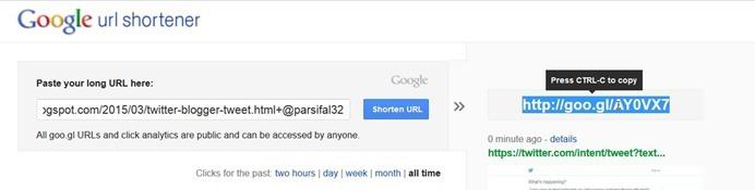 shorten-url-googl
