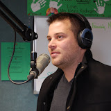Jonny Diaz in studio with the WBFJ's Morning Show, Tami & Verne - 12-13-10