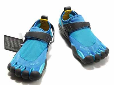 Vibram Five Fingers KSO Blue-Grey Mens Shoes