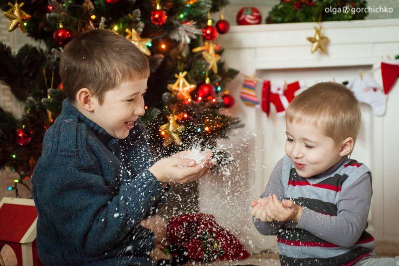 Детский новогодний фотопроект Рождественские мечты. 23. Дима и Саша-0396