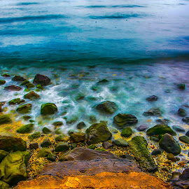 Seashore by Jhong Narcida - Landscapes Waterscapes