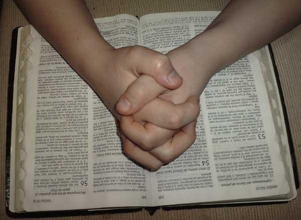 Persona orando