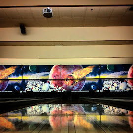 Bowling Anyone?  by Mike Canter - Instagram & Mobile Android ( las vegas, suncoast casino, bowling, lanes )