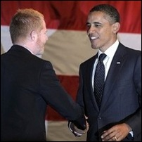 Jesse Tyler and Barack Obama