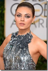 71st Annual Golden Globe Awards, Arrivals, Los Angeles, America - 12 Jan 2014