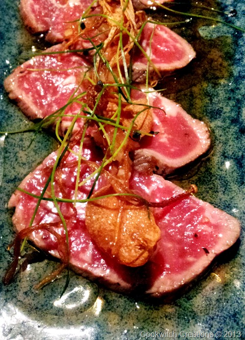 Tataki close up