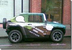 an electric Hummer?