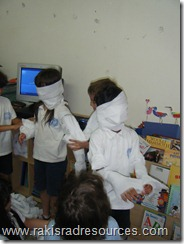Making Kids into Mummies for our Ancient Egypt Unit