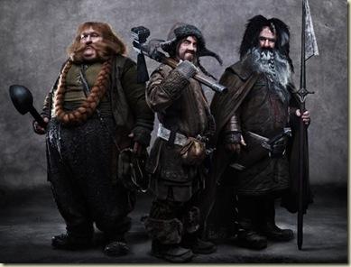 hobbit-dwarves - Bombur, Bofur, Bifur