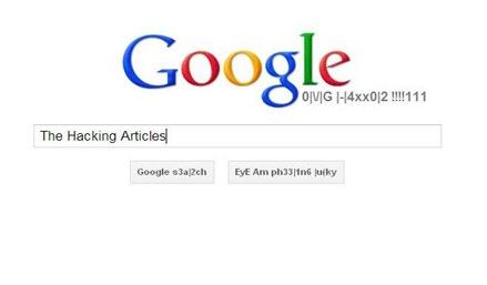 Hackers google