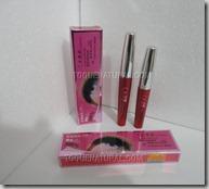 Rímel - Mascara para olhos 2 em 1 efeito cílios postiços Flamingo01