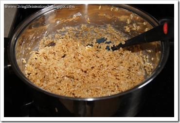 make rice krispies