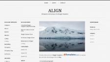 Align blogger template 225x128
