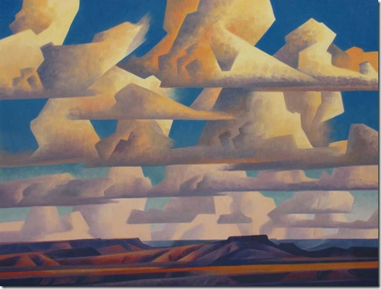 Band of Clouds 33.5 x 45 Giclée Artist Proof, Very Limited $3,000.00