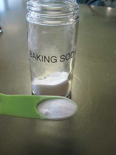 Baking soda in addition to baking powder are the leaveners.