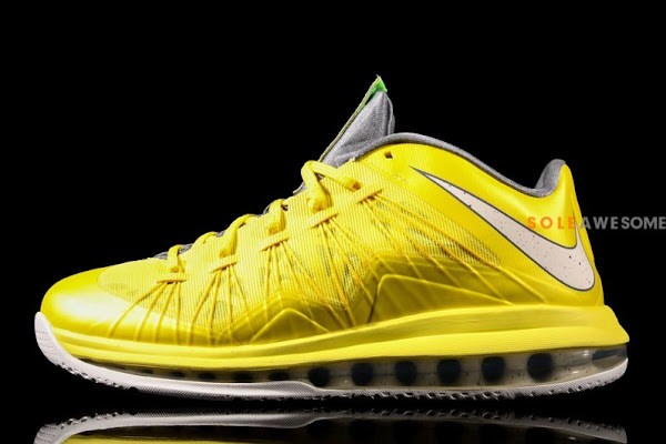 New Photos  Nike LeBron X Low Yellow amp Grey 579765700