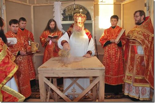 Освячено храм на честь святого великомученика Димитрія Солунського в селі Вишнів. Митрополит Ніфонт (Солодуха)
