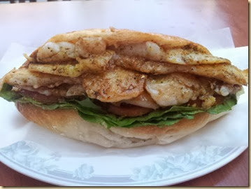 Fish Store Grouper Sandwich