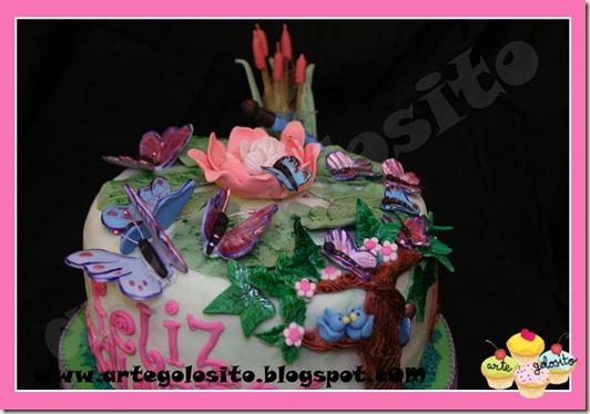 tarta mariposas