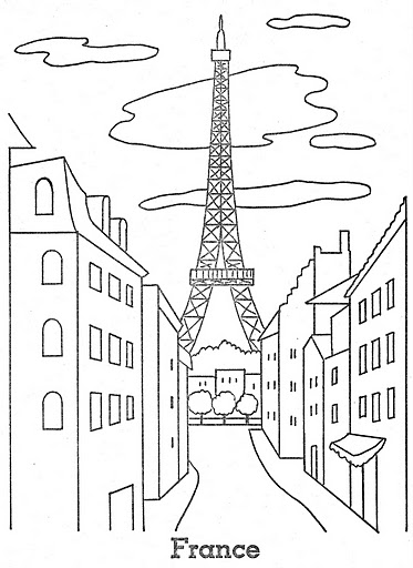france coloring pages - photo#29