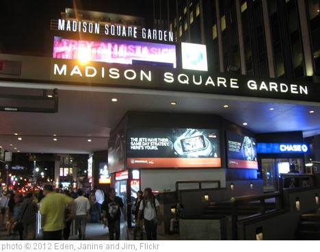 'Madison Square Garden' photo (c) 2012, Eden, Janine and Jim - license: http://creativecommons.org/licenses/by/2.0/