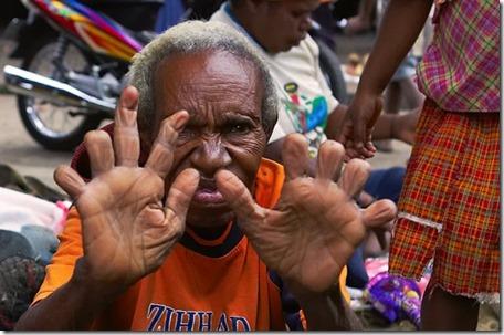 potong jari kerana simbolik kematian