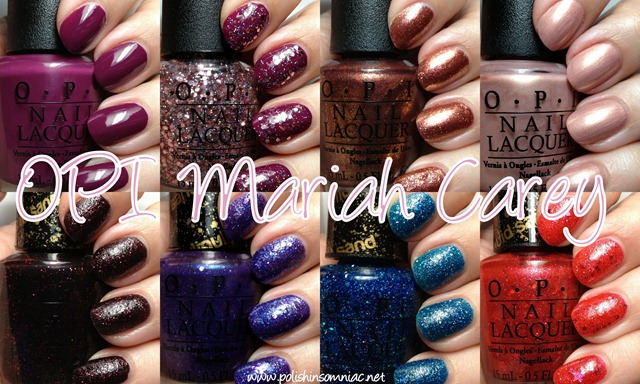 Mariah Carey by OPI ♥ Swatches and Review Part One