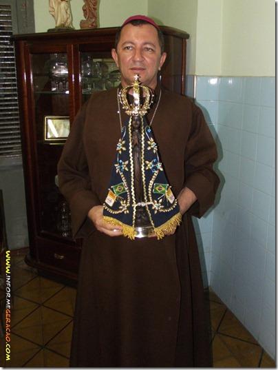 Bispo Diocesano Dom João José Costa com Aparecida