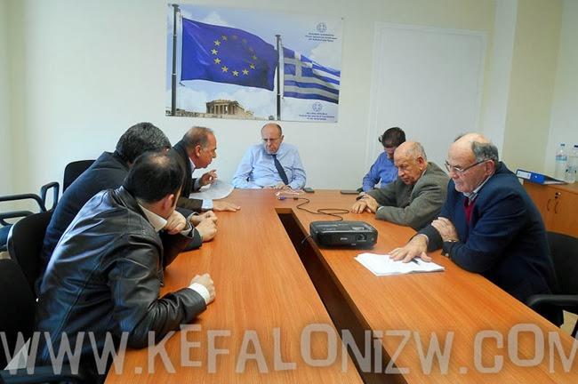 Η συντονιστική Επιτροπή Κεφαλλήνων Αττικής στο υπουργείο Εσωτερικών