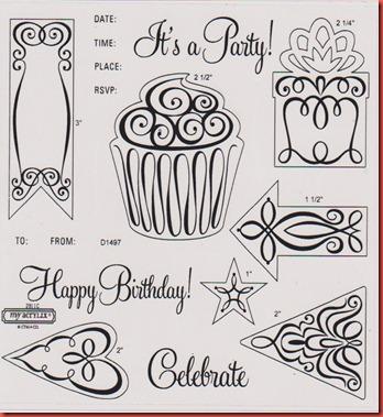Art Philosophy Celebration stamp carrier sheet