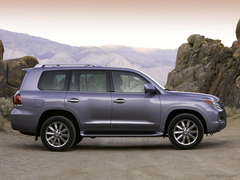 2008 Lexus Lx 570 Suv Specifications Pictures Prices