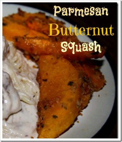 Parmesan Butternut Squash (On Top O' Spaghetti)