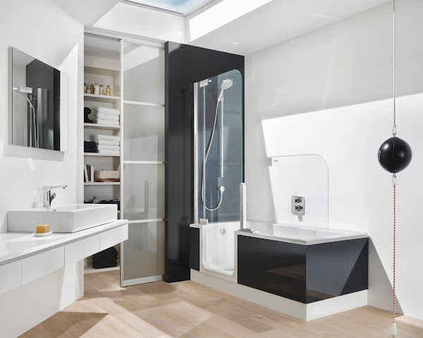Walk In Tub Shower Combo TL2 Shower Tub Combo