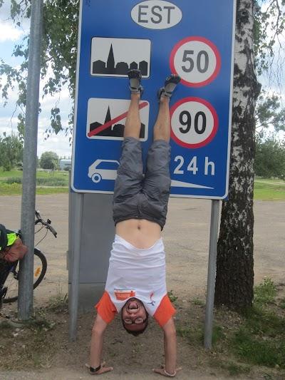 Entering Estonia!