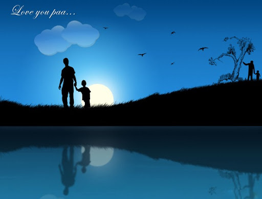 fathers-day-ppt-background-amo ...