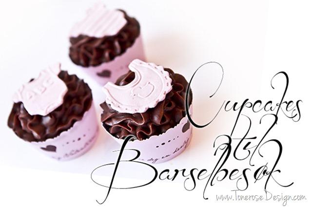cupcakes til barselbesøk baby cupcakes dåp IMG_4045