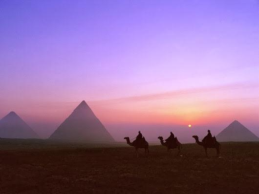 пирамиды-Египта